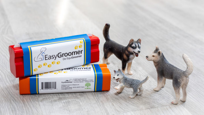 Brosse EasyGroomer Chien et Chat
